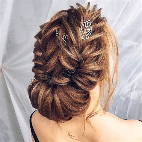 this gorgeous and unique soft updo wedding hairstyle will