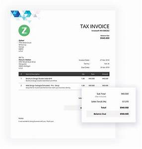 50 free invoice templates print mail download pdf With zoho invoice generator