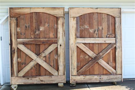 how to make a barn door barn doors are up we closure world garden farms