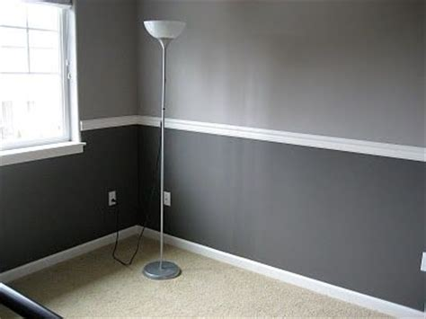 two tone walls with chair rail 25 best ideas about two toned walls on two