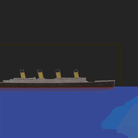 titanic sinking simulation