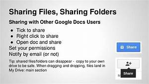 google drive docs for classrooms a short introduction With google docs to share documents