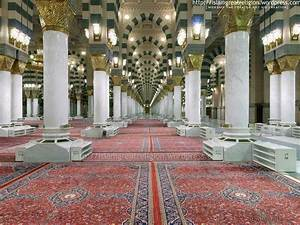 Masjid Nabawi Inside-Outside Wallpapers | Your Title