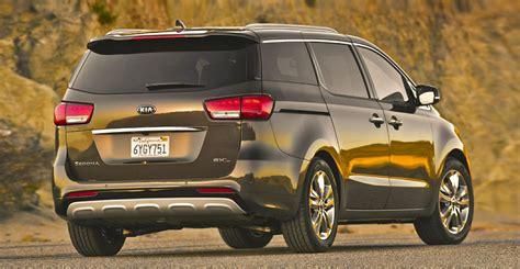 Kia Grand Sedona Wallpapers by 2015 Kia Sedona Minivan Aggressive Carstuneup