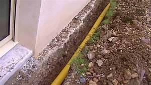 Comment Faire Un Drainage : drainer autour d 39 une maison comment proc der youtube ~ Farleysfitness.com Idées de Décoration