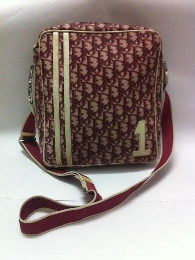 vintage christian dior messenger bag