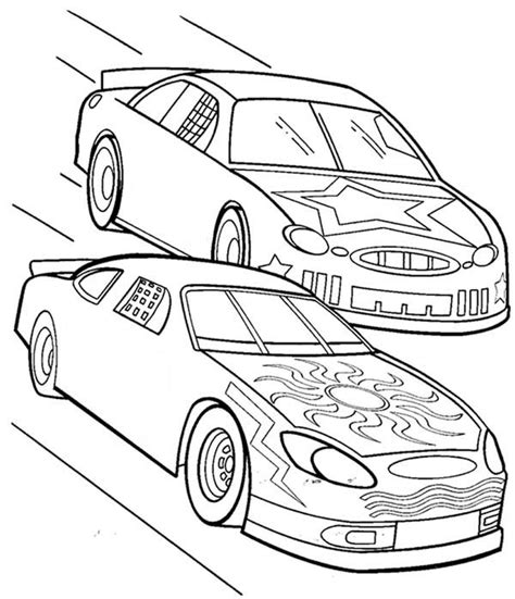 Check out our collection of 25 free printable race car coloring pages for kids. Racing Drawing at GetDrawings | Free download