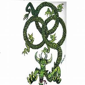 Celtic Knot Dragon by jtwilber1 on deviantART