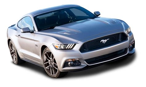 Ford Vehicles Car by Ford Mustang Silver Car Png Image Purepng Free