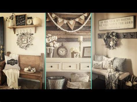 diy rustic farmhouse style fall entryway decor ideas