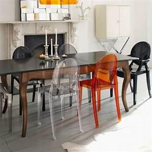 chaise kartell et lampe kartell pour une deco moderne With meuble bar design contemporain 16 chaise de salle a manger contemporaine