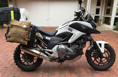 Honda Nc700x Dct Adventure Ready Cape Town To Kenya 2
