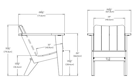 Modern Deck Chair For The Outdoor Lollygagger  Loll Designs