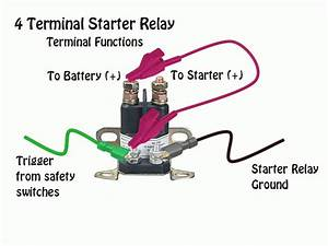 Desiel 3 Post Solenoid Wiring Diagram  Rear Battery No