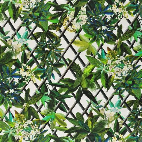 canopy malachite fabric christian lacroix