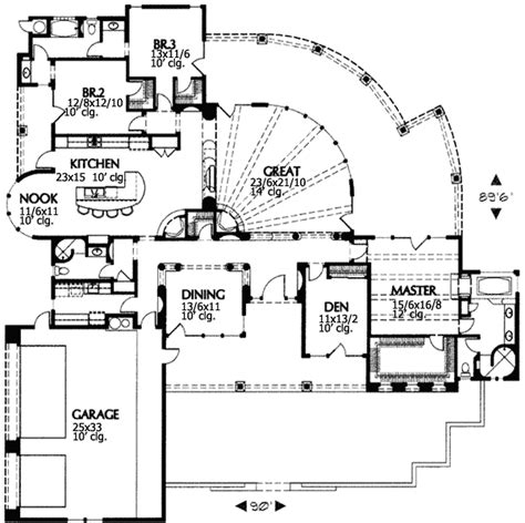 house plans desert home design and style