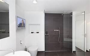 Badezimmer Fliesen Grau Weiß : moderne badezimmer fliesen grau ~ Watch28wear.com Haus und Dekorationen