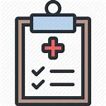 Medical Results Icon Clipboard Health Hospital Icons