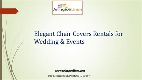 chair covers rentals for wedding events at