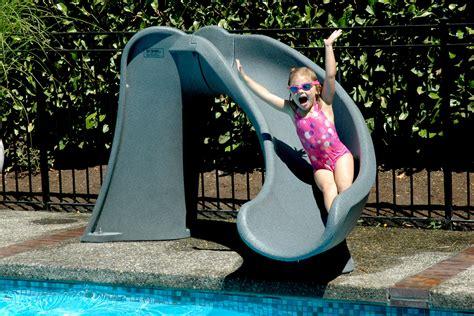 Cyclone™ Inground Pool Slide