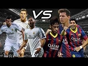 BBC Vs MSN C. Ronaldo, Bale, Benzema Vs Messi, Suarez ...