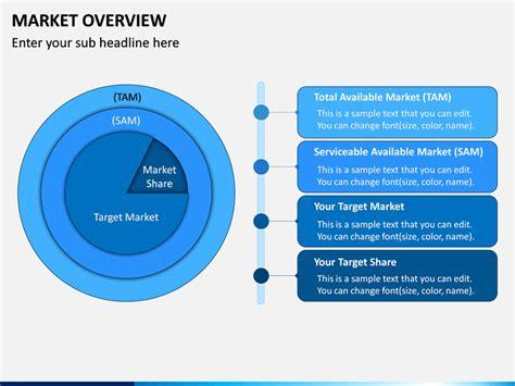 Market Overview PowerPoint Template   SketchBubble