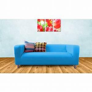 Ikea Klippan Sofa : slipcover for ikea klippan 2 seater sofa sofa cover throw loveseat cotton twill ebay ~ Orissabook.com Haus und Dekorationen