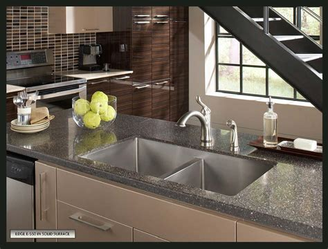 solid surface kitchen sink how to choose a sink for solid surface countertops