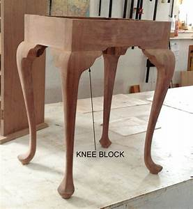 How to make cabriole legs for Queen anne leg template