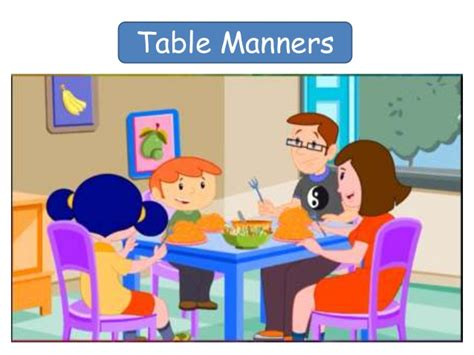 good table manners when you go to eat in a nice western table manners