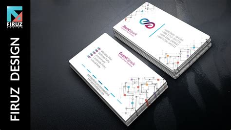 business card design   event management company