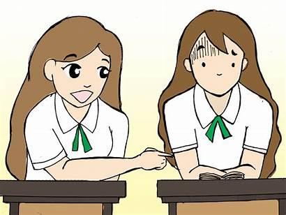 Responsible Student Clipart Responsibility Steps Classmate Talk
