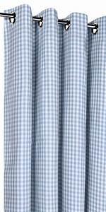 Rideau Blanc Et Bleu : rideau vichy sur mesure rideaux vichy rouge bleu gris rose ~ Teatrodelosmanantiales.com Idées de Décoration