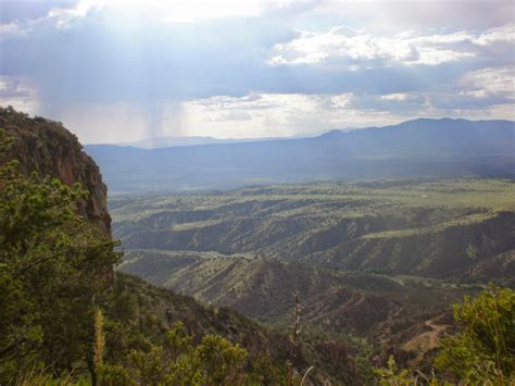 gila wilderness national forest section near west