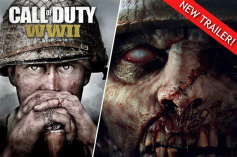 call  duty ww zombies trailer revealed sdcc comic