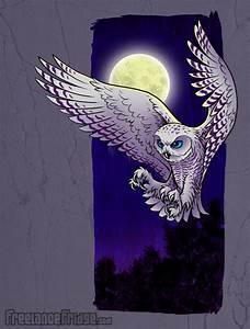 Snowy Owl Illustration by jameskoenig1 on DeviantArt