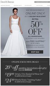 David39s bridal cyber monday sale 2018 blacker friday for Cyber monday wedding dresses