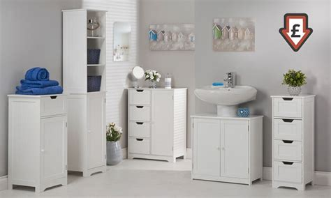 white bathroom furniture range groupon goods
