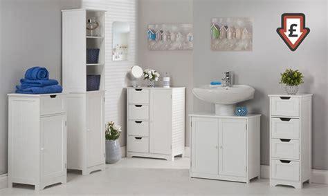 white bathroom furniture range groupon goods