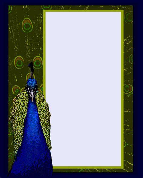 peacock invitation template  stock photo public