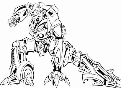 Coloring Pages Steel Robot Robots Printable Sheets