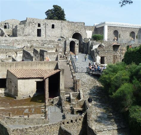 ingresso pompei come arrivare agli scavi di pompei