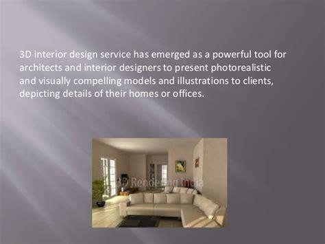 Is 3d Interior Design Service Important?