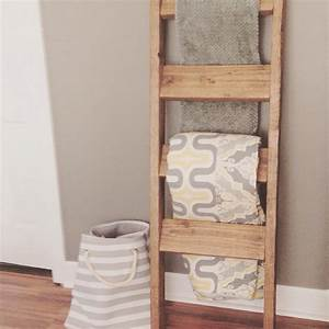 Wooden Blanket Ladder - Shanty 2 Chic