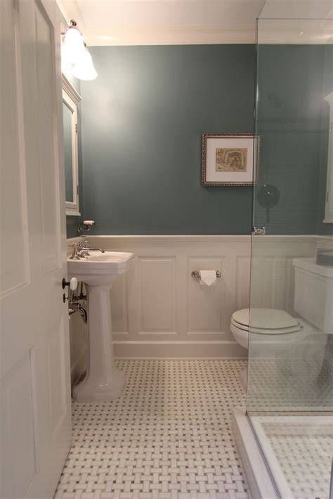 Bathroom With Wainscoting Ideas by Master Bathroom Design Decisions Tile Vs Wood