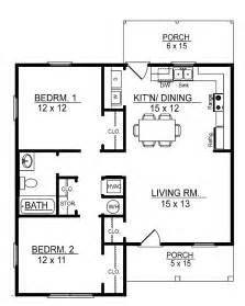 Simple 2bedroom 2bath House Plans Placement by Small 2 Bedroom Floor Plans You Can Small 2