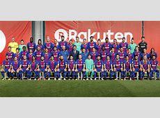 La plantilla del FC Barcelona de la temporada 201718 se