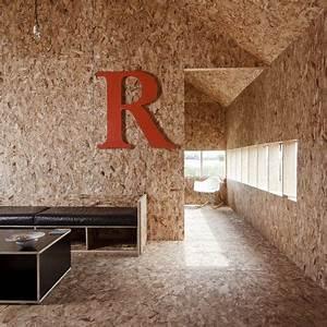 Mur En Osb : stealth barn osb mur arquitectura en madera arquitectura et decoraci n de unas ~ Melissatoandfro.com Idées de Décoration
