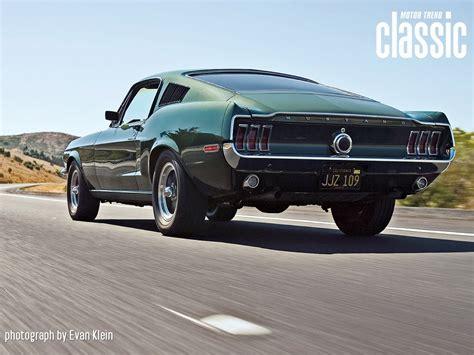 Bullitt 1968 Ford Mustang Fastback 1968 Mustang Bullitt