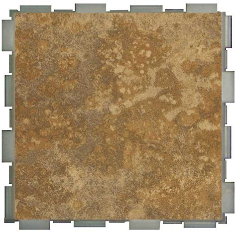shop snapstone interlocking 12 pack camel porcelain floor tile common 6 in x 6 in actual 6